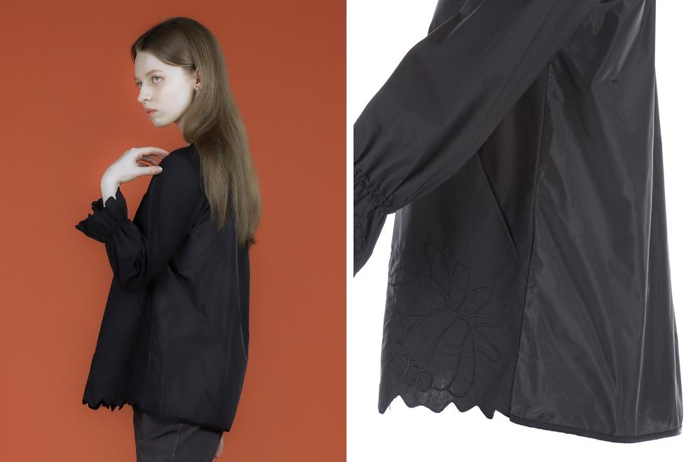 블라우스 모델 착용 이미지-S1L7