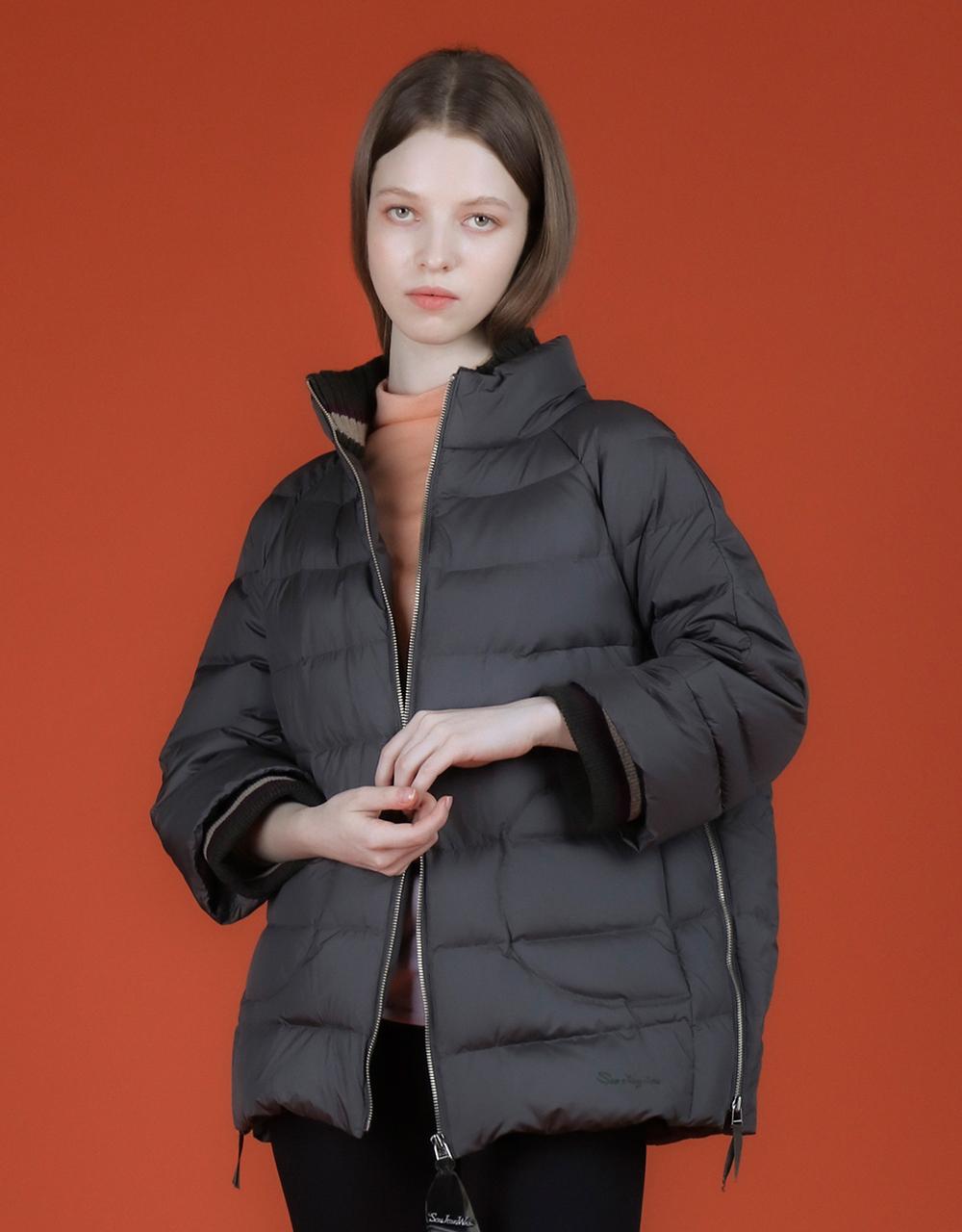 패딩 모델 착용 이미지-S1L14
