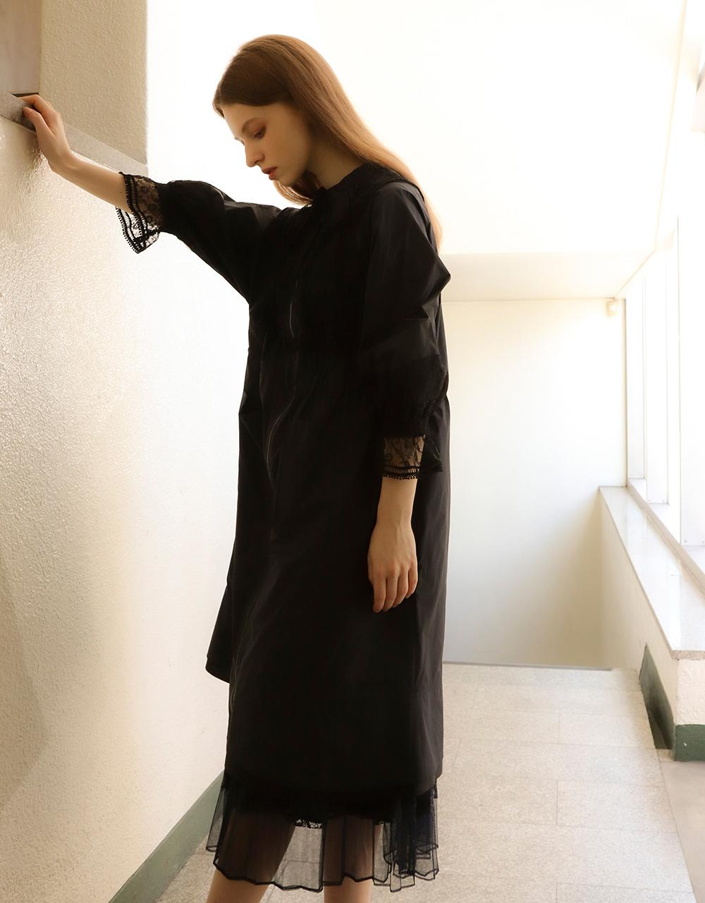코트 모델 착용 이미지-S2L40