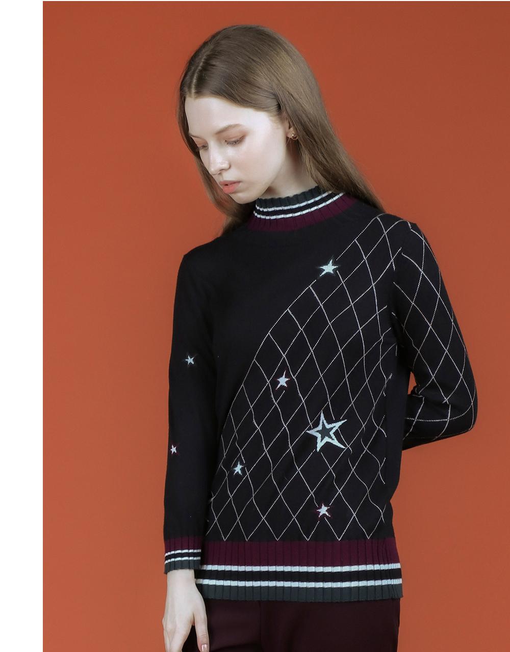 긴팔 티셔츠 모델 착용 이미지-S2L11